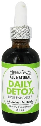 DROPPED: HerbaSway - Daily Detox Liver Enhancer All Natural - 2 oz.