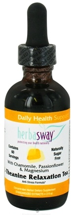 DROPPED: HerbaSway - L-Theanine Relaxation Tea Anti-Stress Formula - 2 oz.