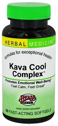 DROPPED: Herbs Etc - Kava Cool Complex - 60 Softgels CLEARANCED PRICED