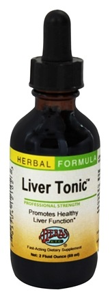 DROPPED: Herbs Etc - Liver Tonic Professional Strength - 2 oz.