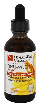 Himalayan Institute - Neti Wash Plus Daily Neti Pot Boost - 2 oz.