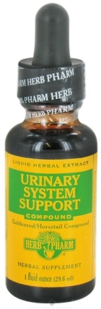 DROPPED: Herb Pharm - Urinary System Support Compound - 1 oz. Formerly Goldenrod Horsetail CLEARANCE PRICED