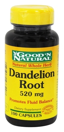 Good 'N Natural - Dandelion Root 520 mg. - 100 Capsules