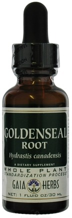 DROPPED: Gaia Herbs - Goldenseal Root - 1 oz. CLEARANCE PRICED