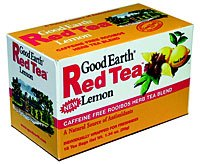 DROPPED: Good Earth Teas - Red Tea Lemon Flavored - 18 Tea Bags