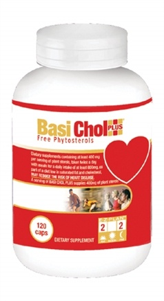 DROPPED: Health From The Sun - Basi Chol PLUS - 120 Capsules