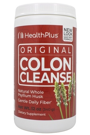 Health Plus - Colon Cleanse The Original High Fiber - 12 oz. Formerly Regular