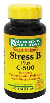 Good 'N Natural - Stress B Plus C-500 Time Release - 60 Tablets