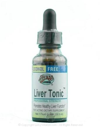 DROPPED: Herbs Etc - Liver Tonic- Alcohol Free - 1 oz.
