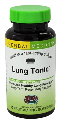Herbs Etc - Lung Tonic Alcohol Free - 60 Softgels