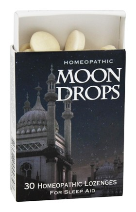 Historical Remedies - Homeopathic Moon Drops Sleep Lozenges - 30 Mint(s)