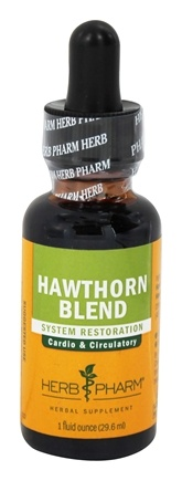 Herb Pharm - Hawthorn Blend Extract - 1 oz.