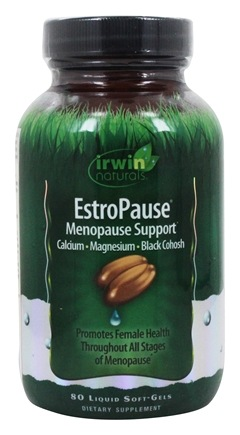 Irwin Naturals - EstroPause Menopause Support - 80 Softgels