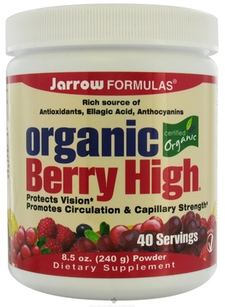 DROPPED: Jarrow Formulas - Berry High Organic - 8.6 oz. CLEARANCE PRICED