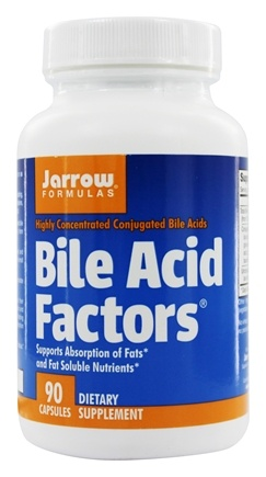 Jarrow Formulas - Bile Acid Factors 333 mg. - 90 Capsules