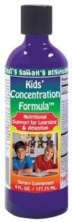 DROPPED: Innovative Natural - Kids' Concentration Formula Liquid - 6 oz.