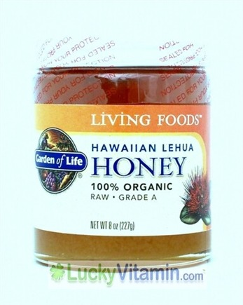 DROPPED: Garden of Life - Organic Hawaiian Lehua Honey - 8 oz.