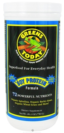 DROPPED: Greens Today - Soy Protein Formula - 26.4 oz.