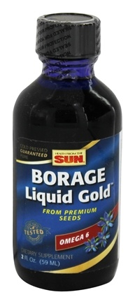 Health From The Sun - Borage Liquid Gold - 2 oz.