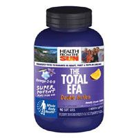 DROPPED: Health From The Sun - Double Action Total EFA Orange Flavor - 90 Softgels