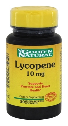 Good 'N Natural - Lycopene 10 mg. - 50 Softgels