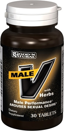 DROPPED: Good 'N Natural - Male V With Herbs - 30 Tablets
