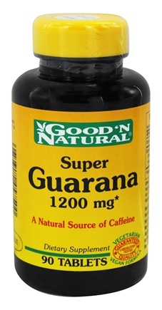 Good 'N Natural - Super Guarana Energy Formula 1200 mg. - 90 Tablets