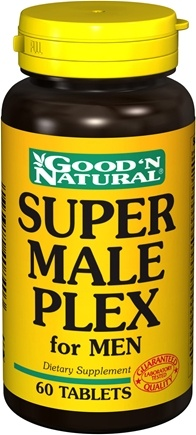 DROPPED: Good 'N Natural - Super Male Plex for Men - 60 Tablets CLEARANCE PRICED