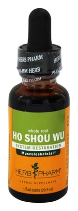 Herb Pharm - Ho Shou Wu  Extract - 1 oz.