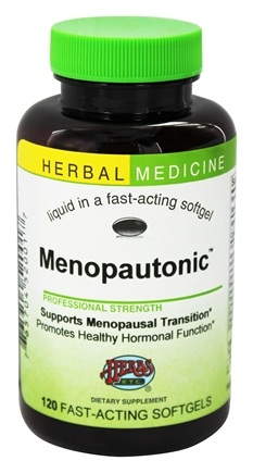 Herbs Etc - Menopautonic Alcohol Free - 120 Softgels