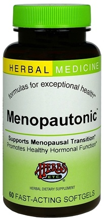 DROPPED: Herbs Etc - Menopautonic Alcohol Free - 60 Softgels CLEARANCE PRICED