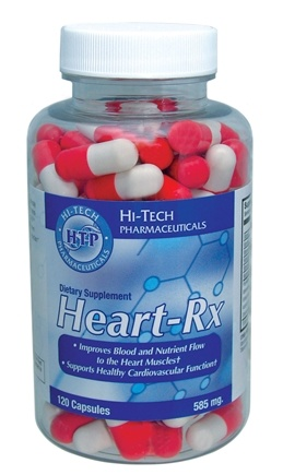 DROPPED: Hi-Tech Pharmaceuticals - Heart-Rx 585 mg. - 120 Capsules