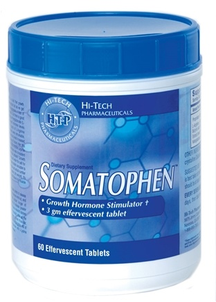 DROPPED: Hi-Tech Pharmaceuticals - Somatophen - 60 Tablets