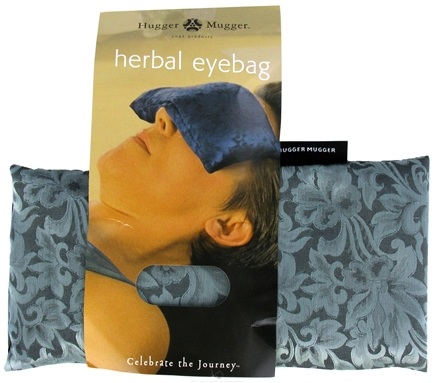 DROPPED: Hugger Mugger Yoga Products - Silk Eyebag Flax Filled Sage Green - CLEARANCE PRICED