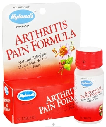 DROPPED: Hylands - Arthritis Pain Formula - 50 Tablets CLEARANCE PRICED