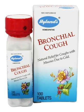 DROPPED: Hylands - Bronchial Cough - 100 Tablets