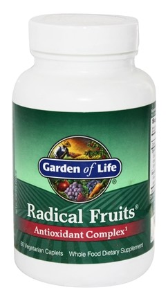 DROPPED: Garden of Life - Radical Fruits - 60 Vegetarian Caplet(s)