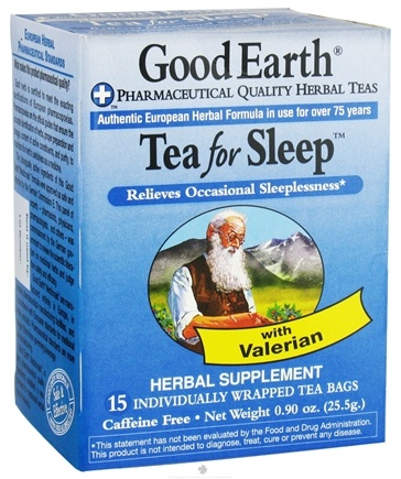 DROPPED: Good Earth Teas - Tea for Sleep - 15 Tea Bags