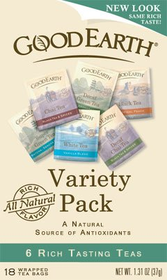 DROPPED: Good Earth Teas - Tea Variety Pack - 24 Tea Bags