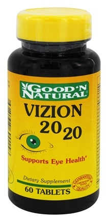 Good 'N Natural - Vizion 20/20 - 60 Tablets