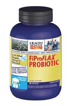 DROPPED: Health From The Sun - FiPro Flax Probiotic - 30 Capsules
