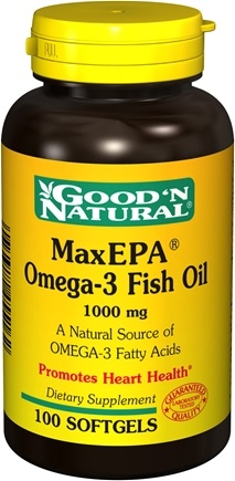 DROPPED: Good 'N Natural - MaxEPA Omega-3 Fish Oil 1000 mg. - 100 Softgels