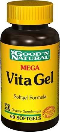 DROPPED: Good 'N Natural - Mega Vita Gel - 60 Softgels