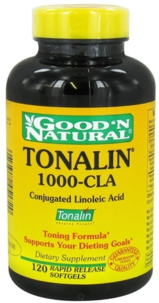 Good 'N Natural - Tonalin 1000-CLA - 120 Softgels