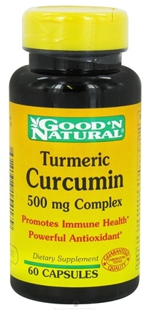 DROPPED: Good 'N Natural - Turmeric Curcumin 500 mg. - 60 Capsules