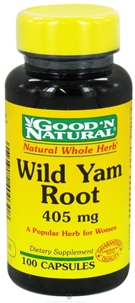 Good 'N Natural - Wild Yam Root 405 mg. - 100 Capsules