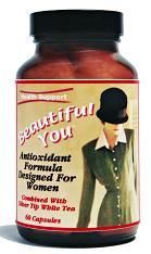 DROPPED: Health Support - Beautiful You Antioxidant for Women - 60 Capsules