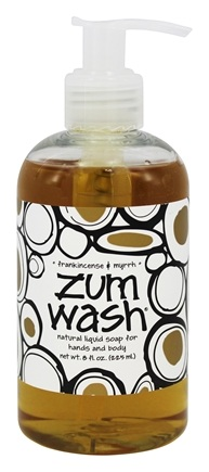 Indigo Wild - Zum Wash Natural Liquid Hand & Body Soap Frankincense & Myrrh - 8 oz.