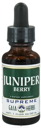 DROPPED: Gaia Herbs - Juniper Berry Supreme - 1 oz.