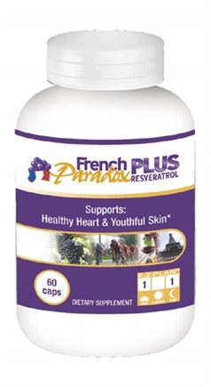 DROPPED: Health From The Sun - French Paradox Plus - 60 Capsules